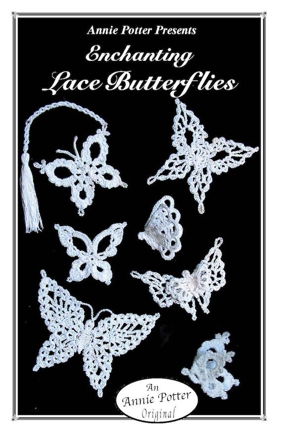 Crochet  Angel Bookmark Ornaments Pattern  Annie Potter