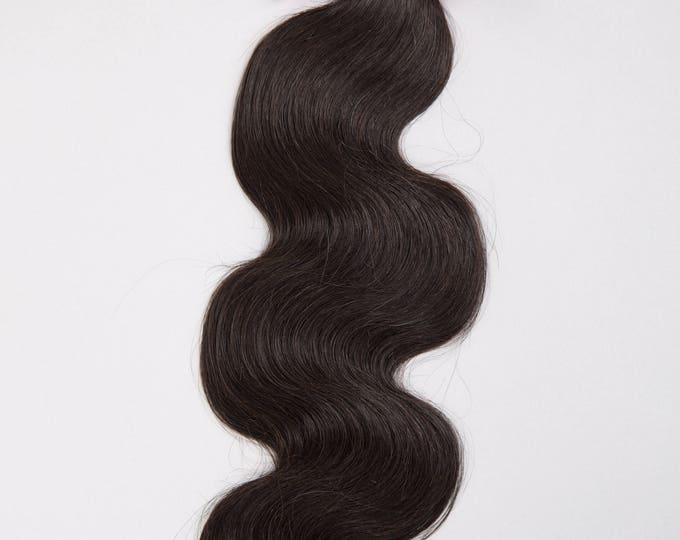 BRAZILIAN VIRGIN REMY Human Hair Extension, 100% Genuine Grade 7A Unprocessed Virgin Remy Human Hair. * Free Shipping