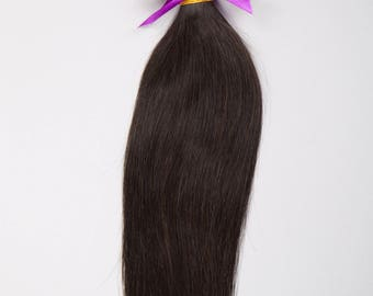BRAZILIAN VIRGIN REMY Human Hair Extension, 100% Genuine Grade 7A Unprocessed Virgin Remy Human Hair. * Free Shipping