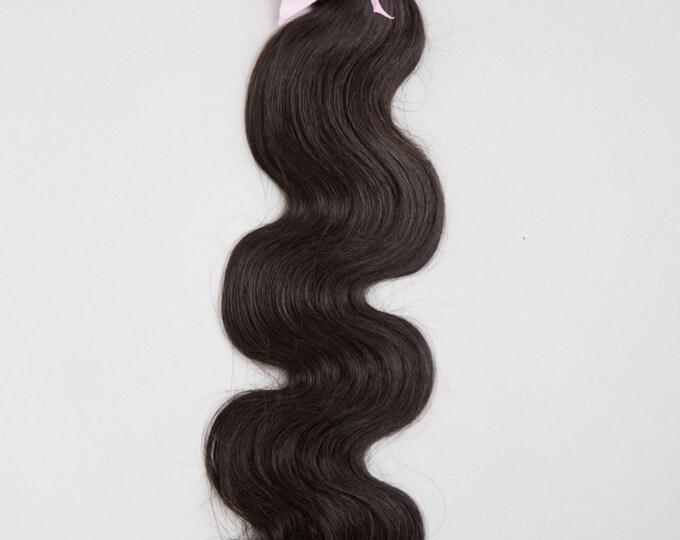 PERUVIAN VIRGIN REMY Human Hair Extension, 100% Genuine Grade 7A Unprocessed Virgin Remy Human Hair. * Free Shipping
