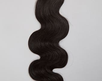 MONGOLIAN VIRGIN REMY Human Hair Extension, 100% Genuine Grade 7A Unprocessed Virgin Remy Human Hair. * Free Shipping