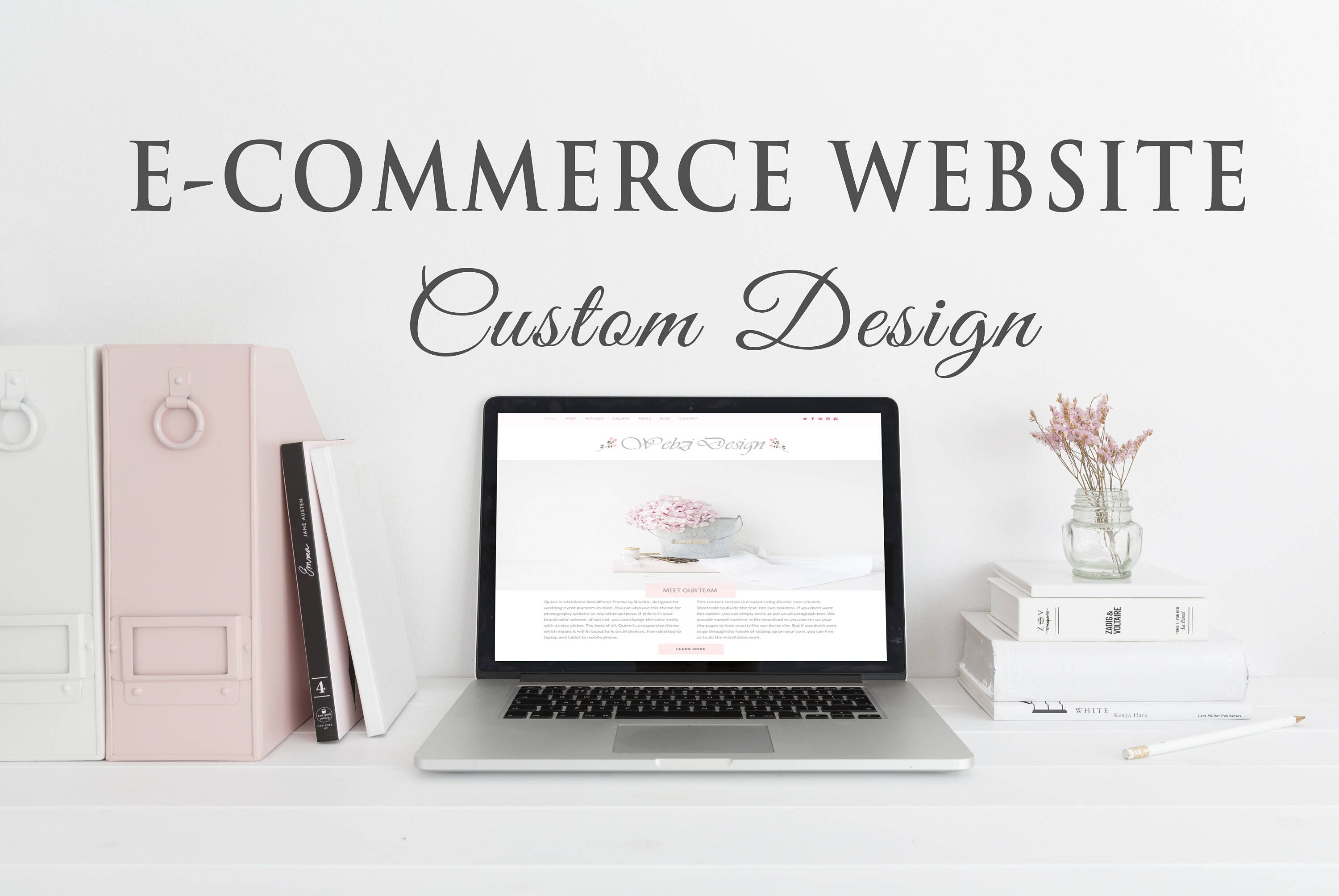 Custom Shop Website Design, Web Design, Individual Website, Marketplace,  Shop Platform, Brand Website, E-Commerce Site, Business Site