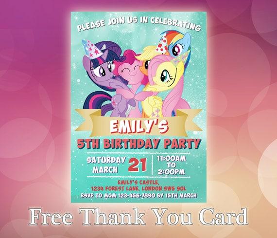 photograph regarding My Little Pony Printable Invitations named My Tiny Pony Invitation / My Small Pony Birthday / My Small Pony Invite / My Small Pony Celebration / My Very little Pony Printable / LP01