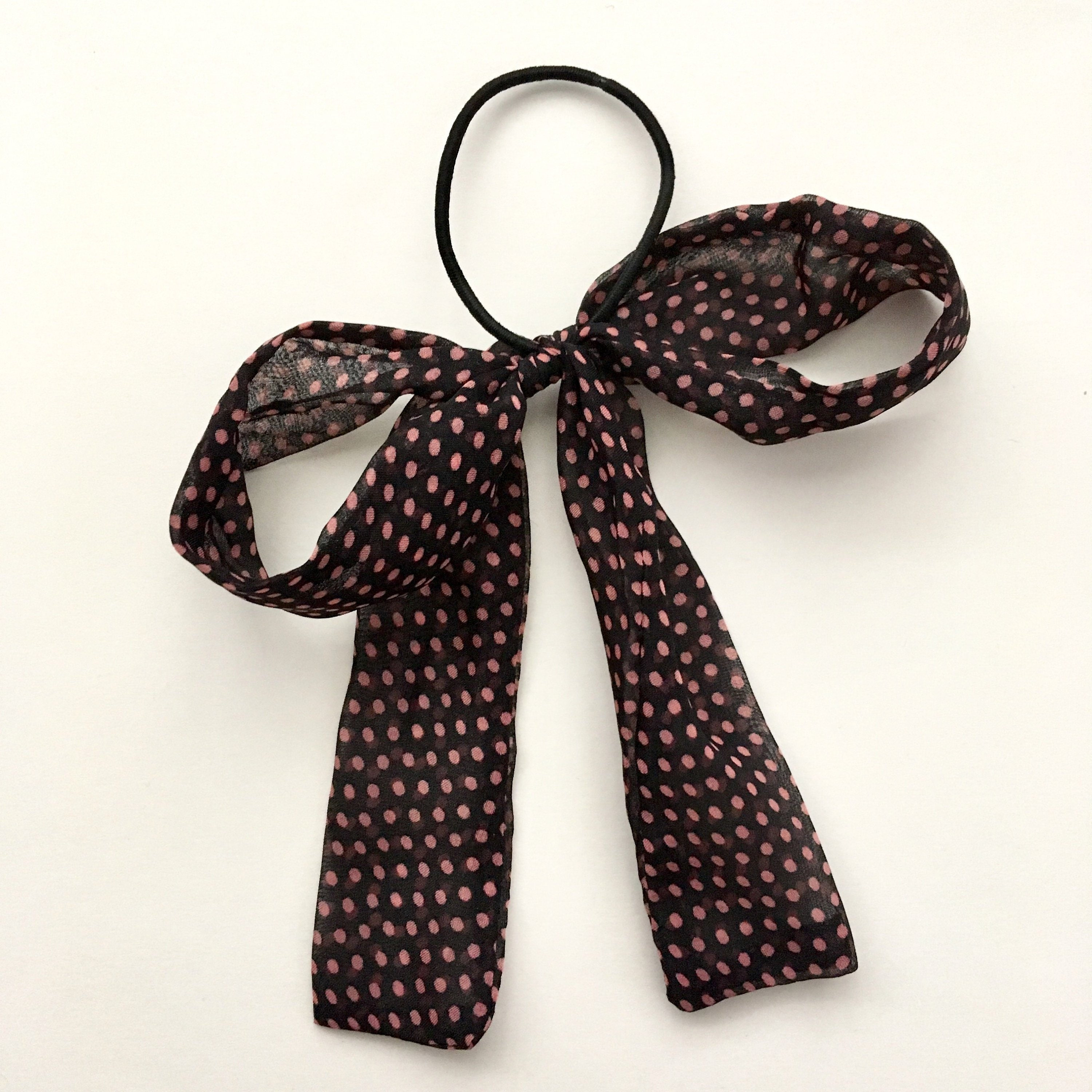 Youth Pink and Black Checkered Bow-Tie