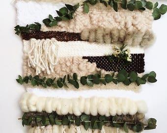 Weaving wall plant