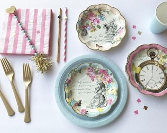 Alice in Wonderland Decorations, Alice in Wonderland Party, Alice in Wonderland Tea Party