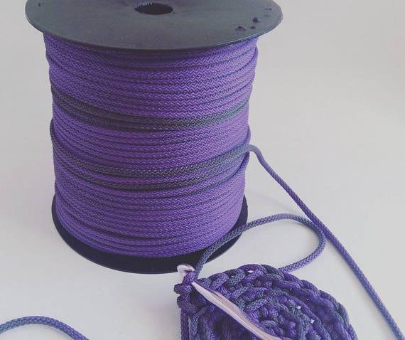 Häkeln Sie Seil Kordel 5mm Kordel Makramee Schnur Etsy