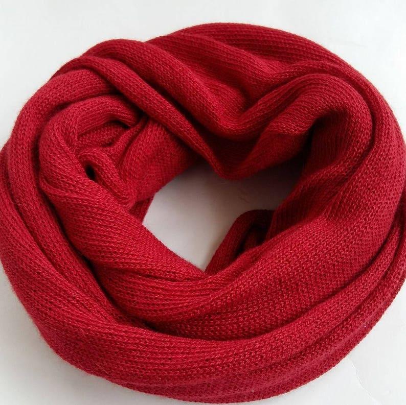 00c27eb08f333 Tricot écharpe en laine alpaga cache-cou cadeau de Noël   Etsy