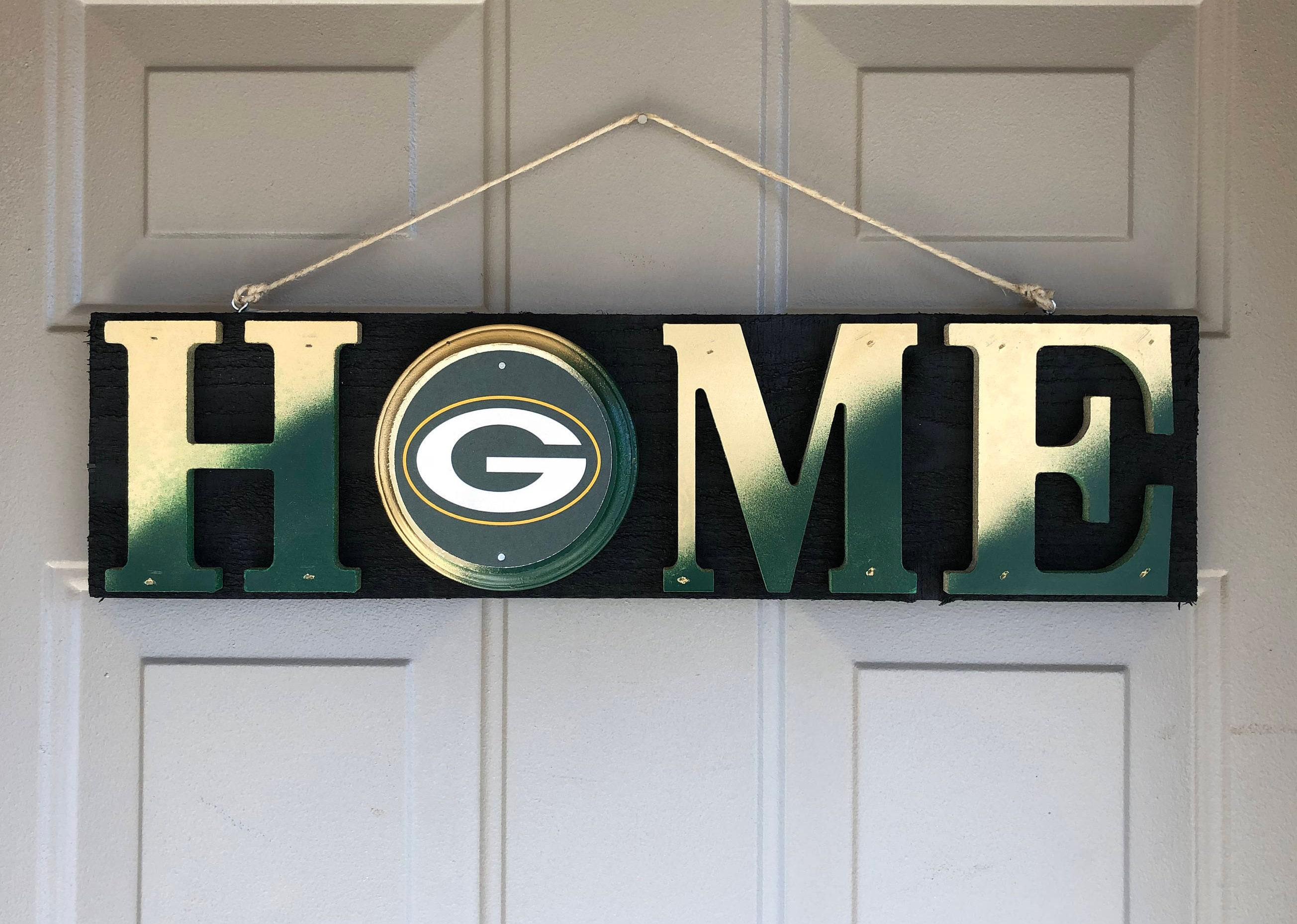 50 & Green Bay Packers Green Bay Decor Green Bay Packers Fan | Etsy
