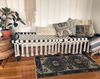 LOCAL PICKUP ONLY- Macrame Cot