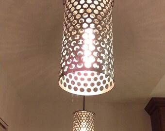 Stylish Dining Room Metal Lighting---Holey Lights!
