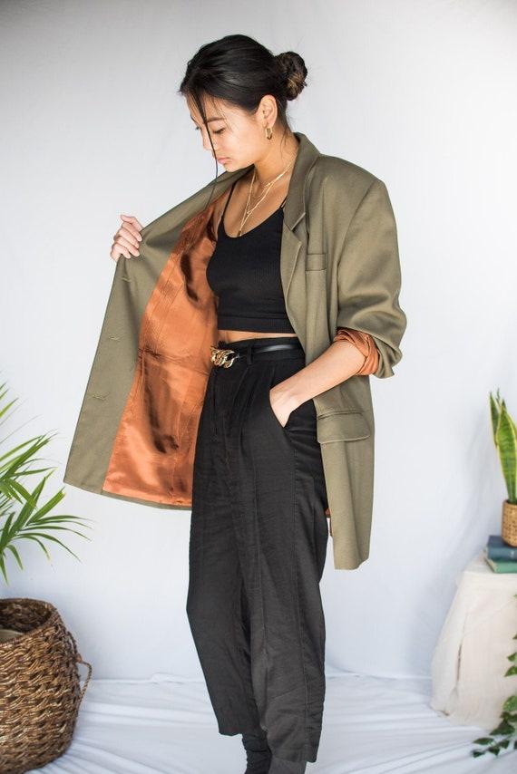 Women's Vintage Oversized Blazer - Large/XL (70's… - image 1