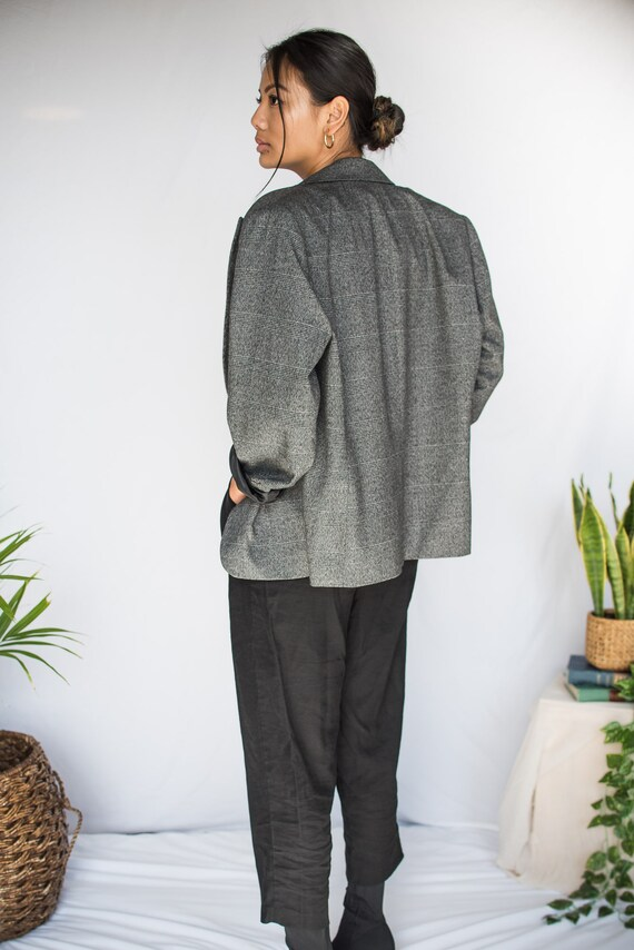 Women's Vintage Oversized Blazer - Large/XL (70's… - image 2