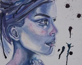 Emma, original painting