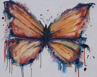 Butterfly, original painting