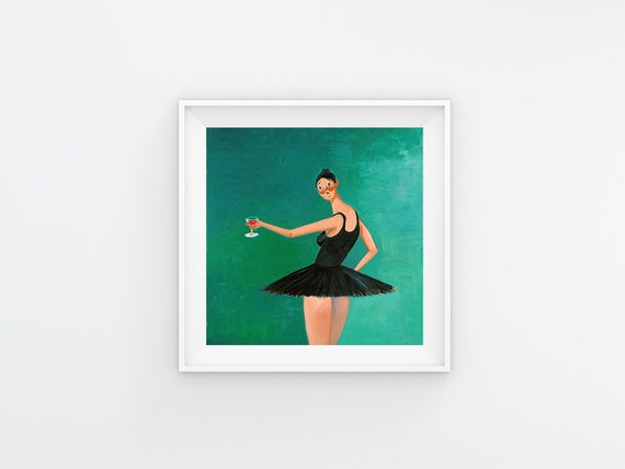 """Kanye West My Beautiful Dark Twisted Fantasy Art Cover Poster 20×20 24×24 32×32/"""""""