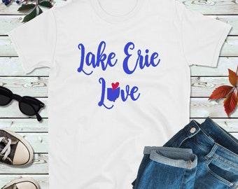 e223fce33c1a Great Lakes Shirt, Vacation Shirt, Lake Erie Love
