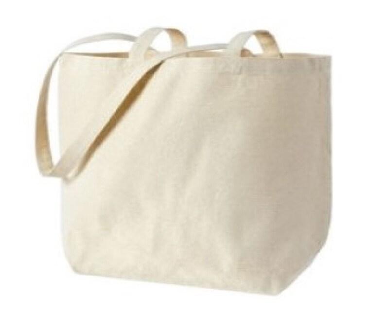 Canvas Tote Bags Large Tote Bag Fun Stuff Inside