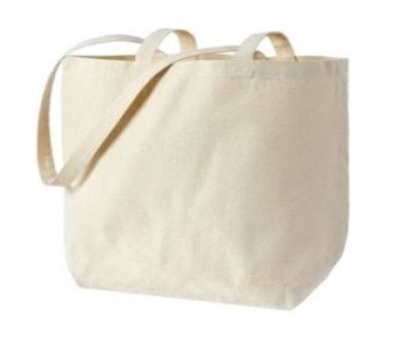 GYM I HEARD GIN BAG SHOPPER TOTE BAG CHOICE OF COLOUR CARRY BAG FUNNY