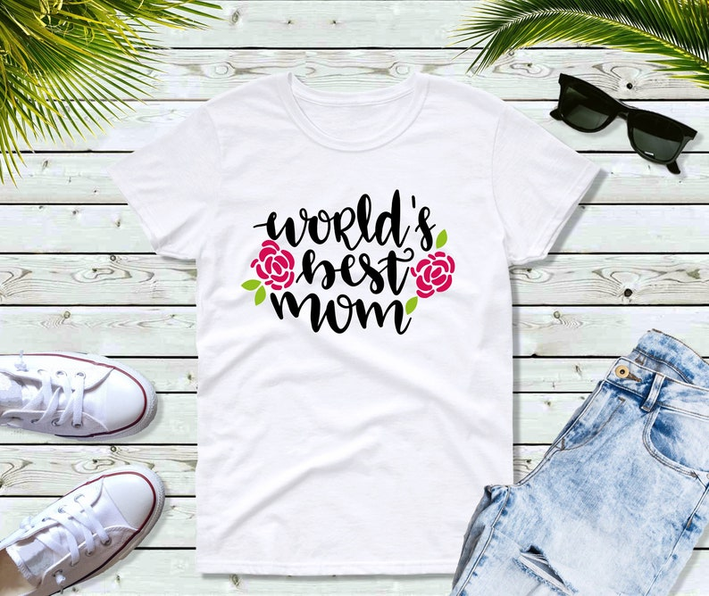 Mom Life Shirt Gift for Mother World's Best Mom image 0