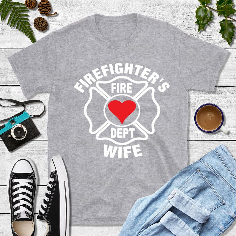 Firefighter Gift Firefighter's Wife image 0