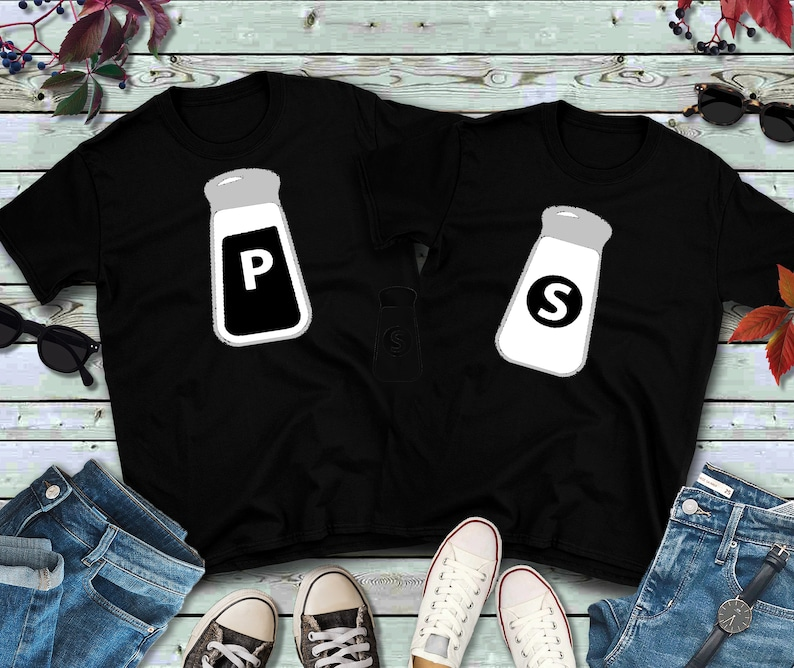 Couples Shirts Salt and Pepper Shirts image 0