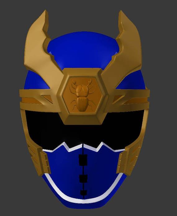 Power Rangers Ninja Storm Marineblauw Stl Bestand Voor Etsy