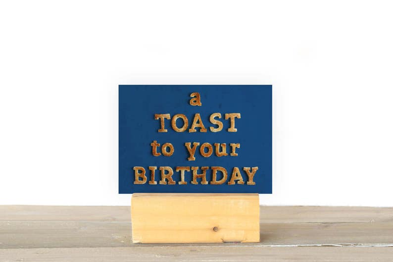 A Toast To Your Birthday image 1