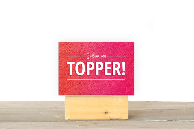 You're a topper image 1