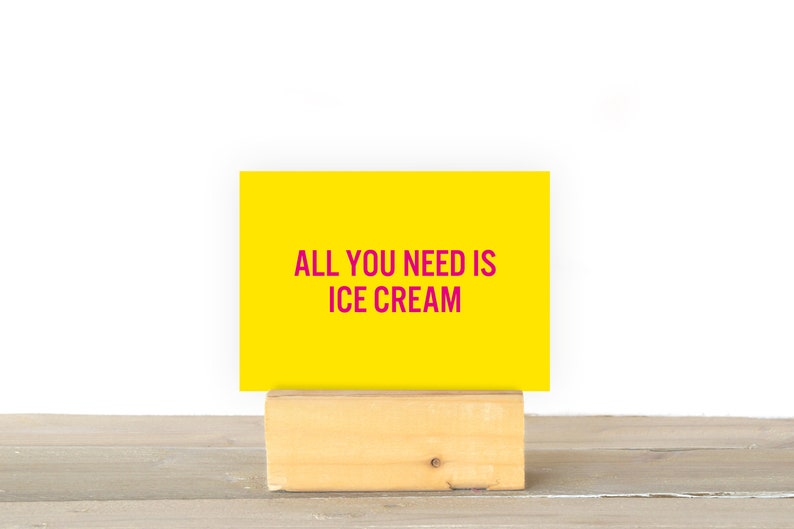 All you need is ice cream image 1