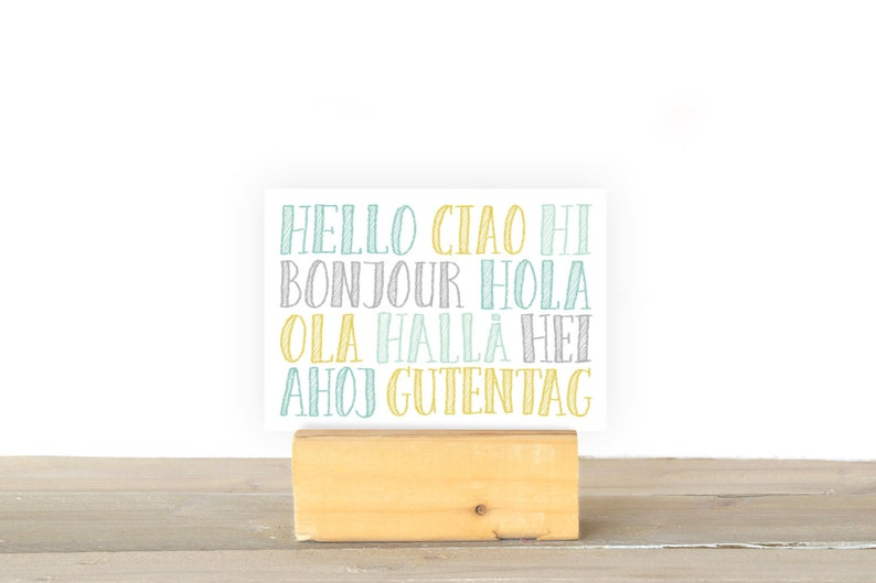 Hello Ciao Hi image 1