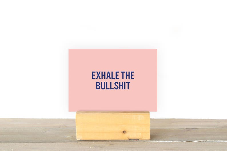 Exhale the bullshit image 1