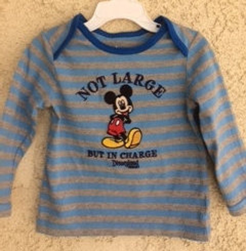 aaaa5682b Disney Mickey Mouse Shirt Size 24 M Disney Clothes Disney | Etsy