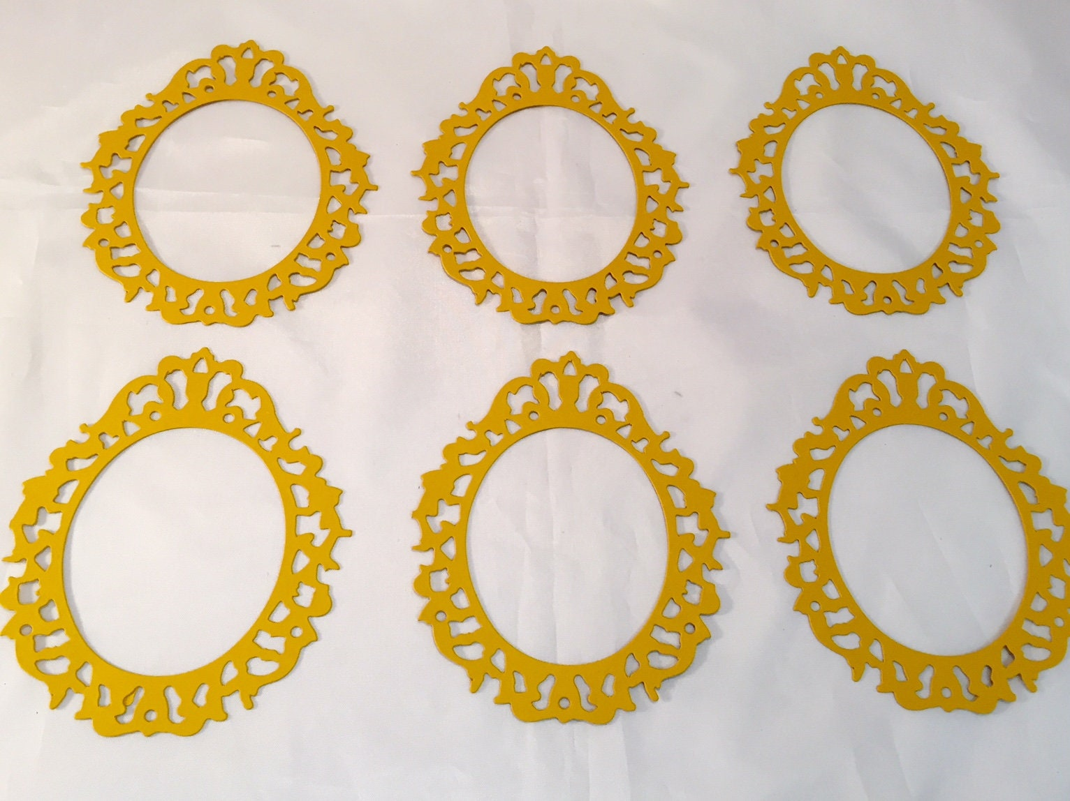 Tim Holtz Die Cuts Oval Ornate Frame Six Frames | Etsy