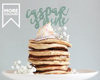 One Cake Topper, One Cake Topper Gold, Birthday Cake Topper, Name Cake Topper, Wooden Cake Topper, Cake Toppers uk, Custom Cake Topper