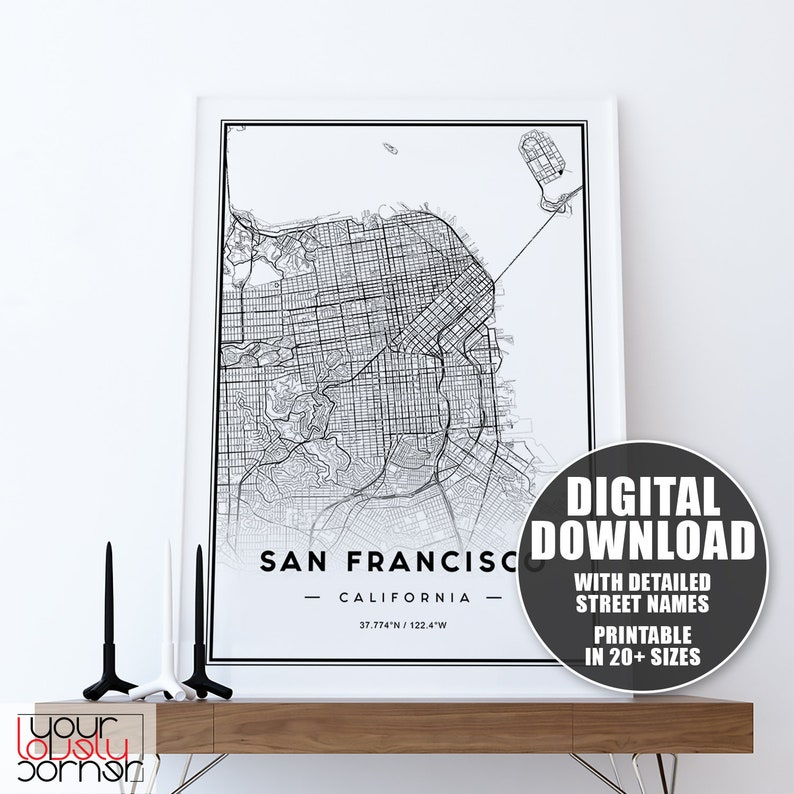 san francisco street parking map, san francisco attractions, san francisco haight-ashbury 60s, san francisco 1800s, venice street map print, london street map print, san francisco beaches swimming, key west street map print, san francisco cable car routes, san francisco 1915, san francisco street car map, on san francisco street map print