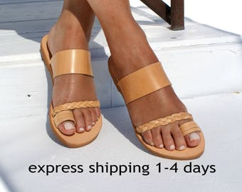 53f8c1ba18124 ANDROMEDA  Women leather sandals  ancient Greek leather sandals  women flat  sandals  handmade sandals  natural leather women sandals