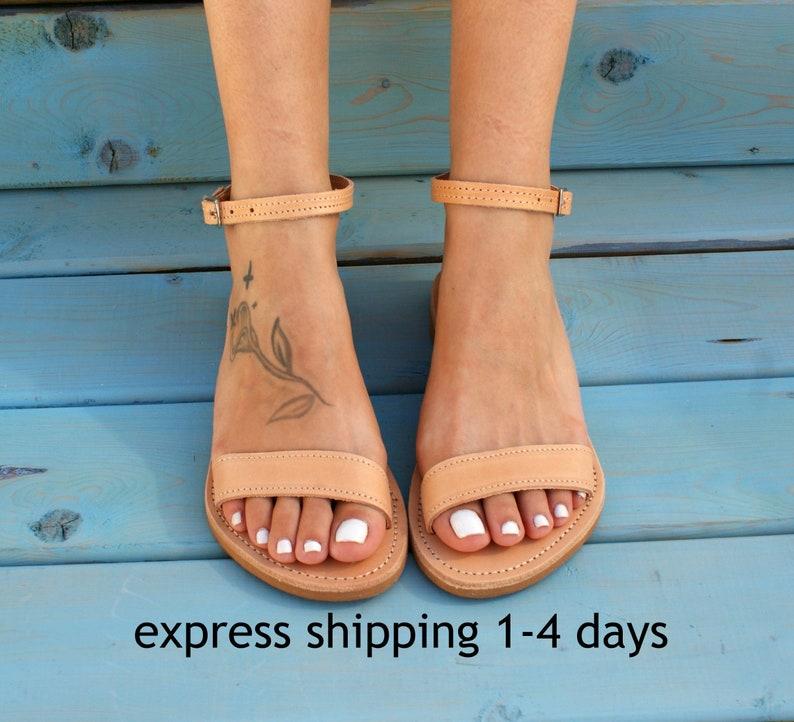 f92a8d868dd0f ELPIS leather sandals/ Ancient Greek leather sandals/ classic leather  sandals/ handmade sandals/ natural leather sandal/ strappy sandals