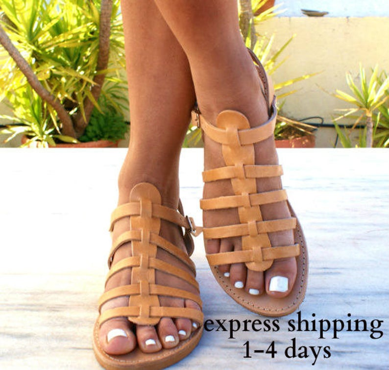 7619c8674522d7 OLYMPIA sandals  Greek leather sandals  Gladiator sandals