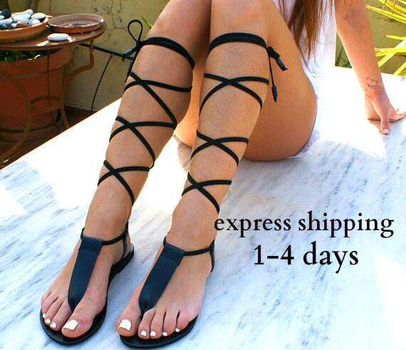 strap noir main en sandales dentelle sandales sandale cuir grecs antique cuir en sandales 2 sandale haut gladiateur sandales Spartiates IRINI T FqwOxRTC5