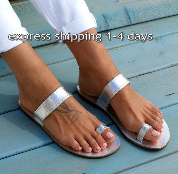 e70b936eac30 EKAVI 6 sandals  handmade leather sandals  ancient grecian sandals  toe  ring sandals  classic leather sandals  greek sandals  silver sandals