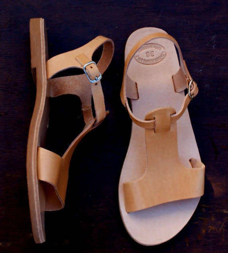 38f902d56580db CASSANDRA sandals  women Greek leather sandals  roman sandals