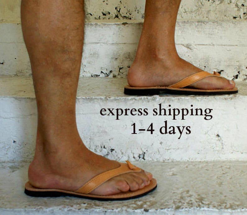 e9f465648 KOUROS mens leather sandals  mens Greek leather sandals  mens