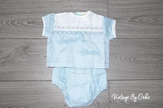 2262aa1c4 SALE VINTAGE AUTHENTIC infant baby childrens 2 piece romper 3