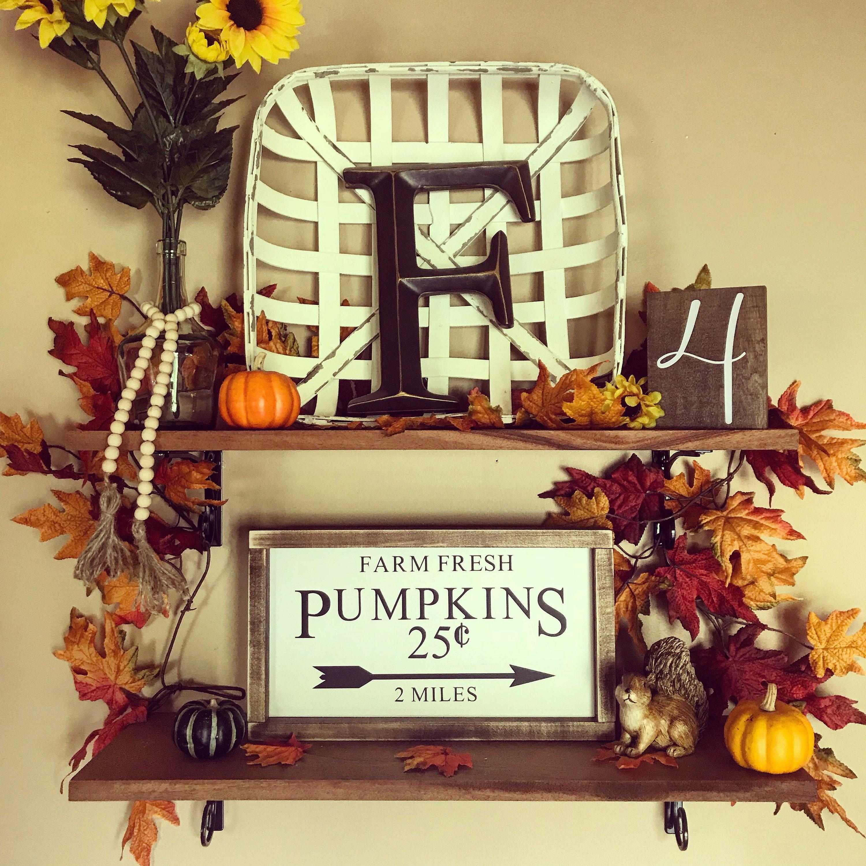 Farm fresh pumpkins sign - home decor - wood signs - fall Signs ...