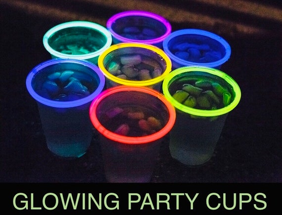 Glow Party Invitations Neon Invitation Custom Invitations Sweet