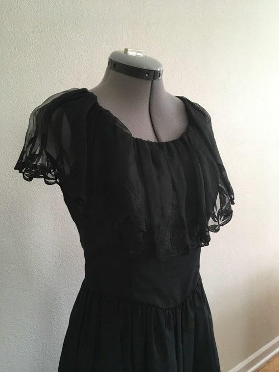 Little black 1970 dress - image 6