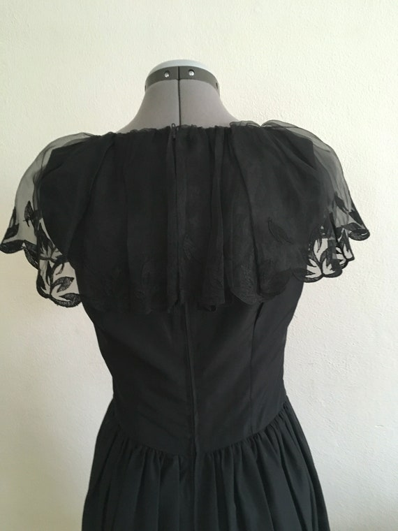 Little black 1970 dress - image 4