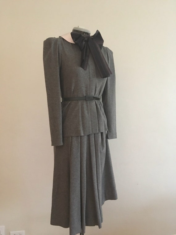 Spectacular vintage Albert Nipon suit