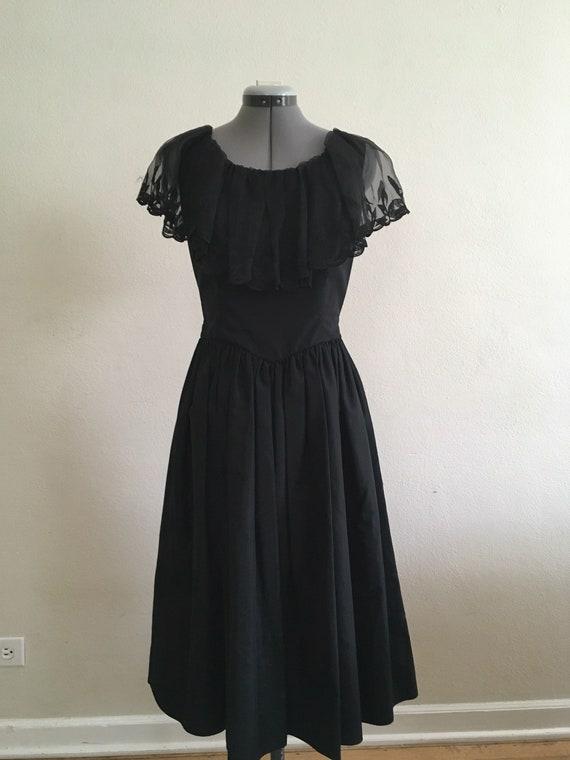 Little black 1970 dress